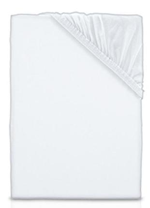 Трикотажная белая простынь на резинке 70х140 от dormia, германия