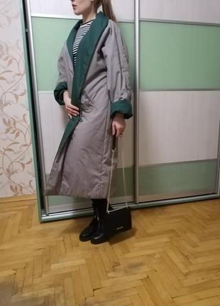 Пальто, пуховик-одеяло