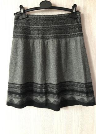 Шерстяная юбка promod