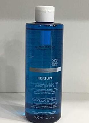 La roche-posay kerium физиологический шампунь-гель