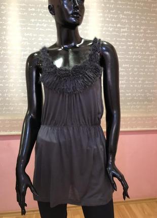 Блуза, футболка, туника бренда savida, размер м, вискоза 100 %.