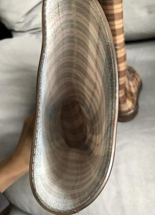 Стильные резиновые сапоги made in italy4 фото