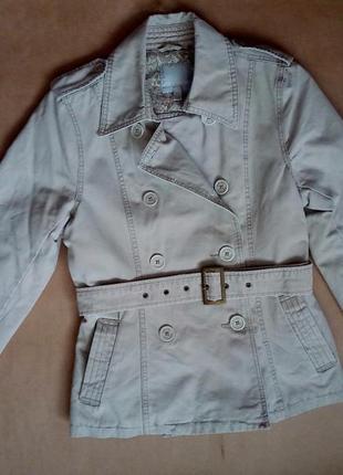Демисезонная хлопковая куртка amisu, р. 40