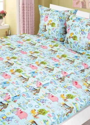 Комплект постельного белья детский ярослав бязь
