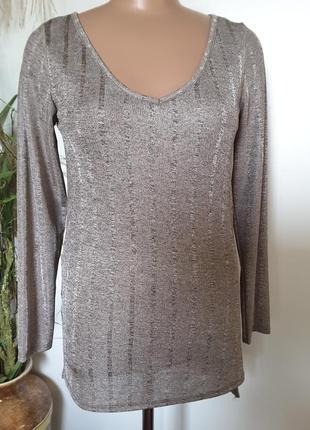 Пуловер цвета старой бронзы в 2-× уровнях
