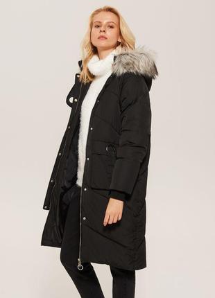 Функциональное стёганое пальто кокон оверсайз, до -20 градусов!👍👍👍