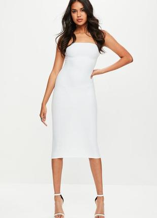 Идеальное бандажное платье миди missguided