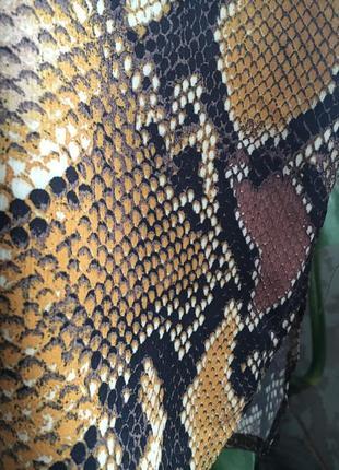 Блуза рубашка змеиный принт оверсайз4 фото