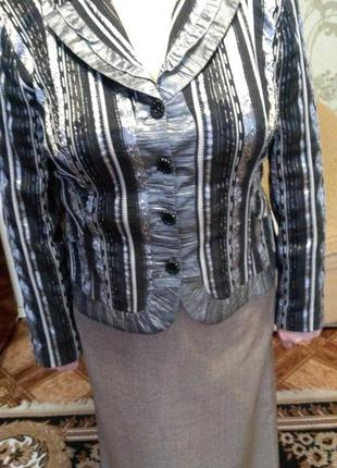 Полосатый пиджачек