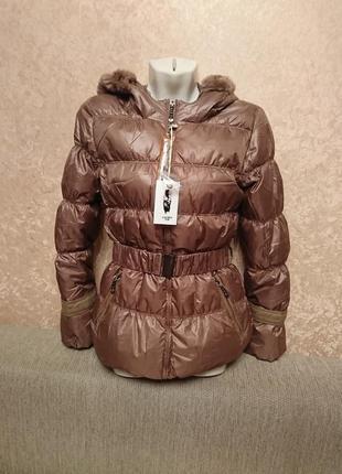 Новая куртка пуховик colins