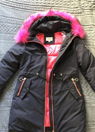 Куртка парка холлофайбер