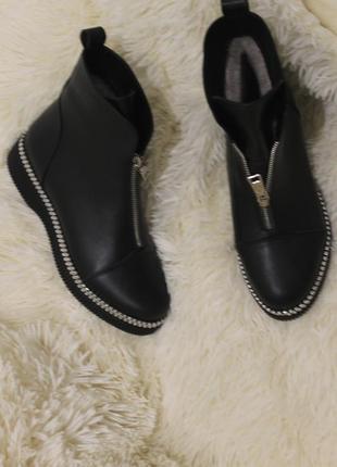 Комфортные женские ботинки , кожа натуральная . зима -весна ,2020,36-40р3 фото