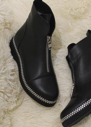 Распродажа комфортные женские ботинки , кожа натуральная . зима - осень ,2020,36-40р