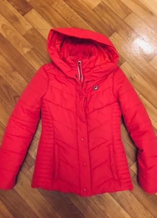 Зимняя курточка fila