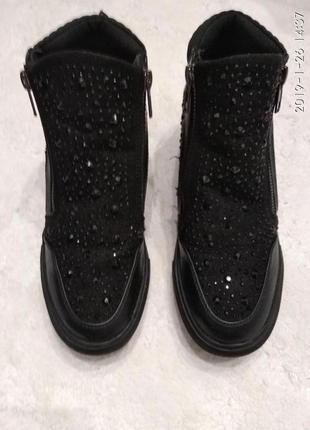 Ботинки сникерсы jaja