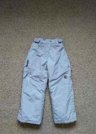 Термо штаны брюки зимние лыжные queshua размер 122 как новые