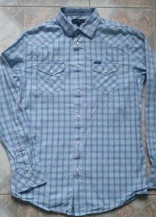Фирменная рубашка в клетку diesel оригинал