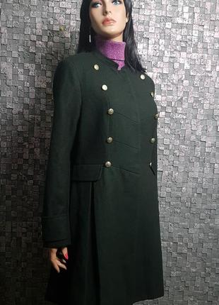Строгое пальто френч1 фото