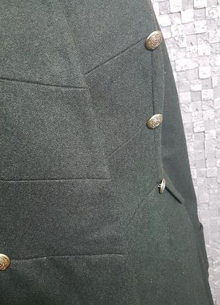 Строгое пальто френч2 фото