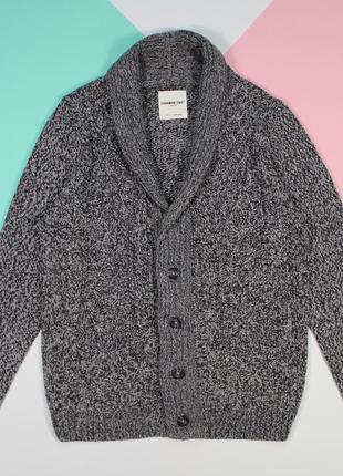 Наряднейший свитер-кардиган с элементами вязки от cedarwood state