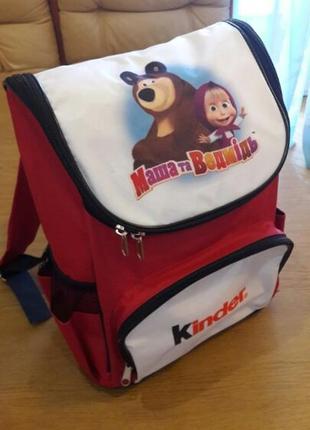 Рюкзак kinder маша и медведь