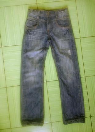 Крутые прямые джинсы в идеале, tumble'ndry, германия, 140 размер