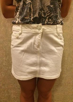 Джинсовая летняя юбка pimkie