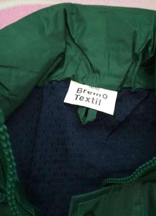 Новая красивая и очень качественная куртка-ветровка на рост 140-1522 фото
