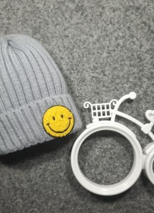 Детская вязаная шапка