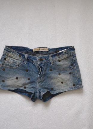 Шорти джинсові zara
