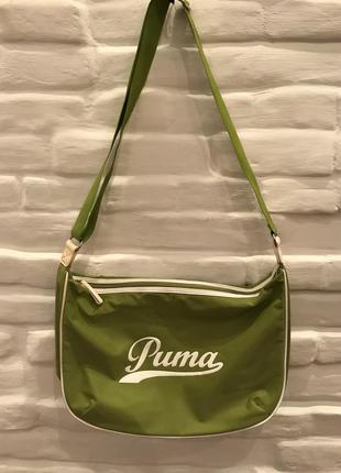 Puma спортивная сумка болоневая!