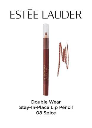 Карандаш для губ estee lauder double wear lip pencil 08 spice