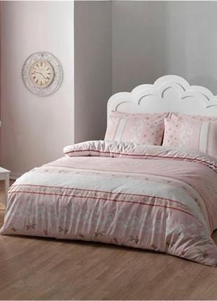 Постельное белье tac ranforce rose pembe king size,постельное размер king size