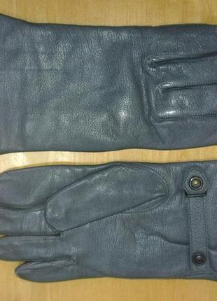 Мужские высококачественные кожаные перчатки.германия. размер 10