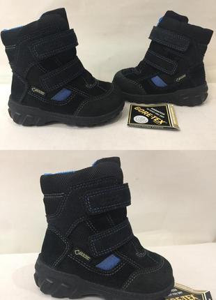 Ботинки зимние сапожки термо ecco gore-tex р.20 (13-13.5см) новые