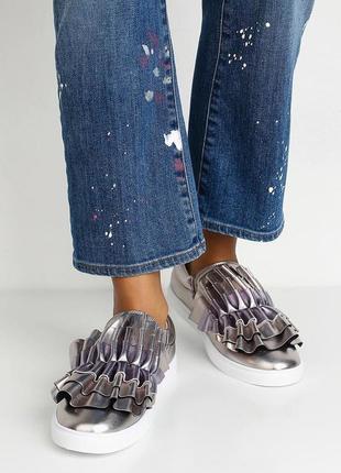 Шикарнейшие туфли, слипоны lost ink,  великобритания