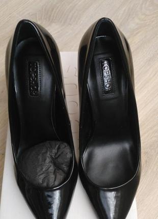 Лаковые туфли topshop