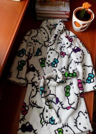 Теплий халат для дівчинки