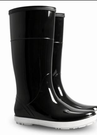 Резиновые сапоги demar (демар) hawai lady czarne/grey