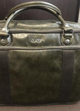 Мужские сумки Armani 2019 - купить недорого мужские вещи в интернет ... 6cb13201b54