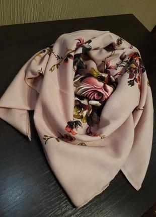 Роскошная пудра шерстяной турецкий платок