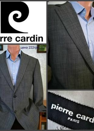 Пиджак от pierre сardin,сочетание вкуса и стиля, оригинал, р.l