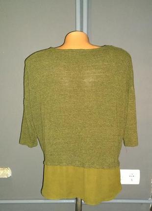 Кофточка блуза  из меланжа stradivarius2 фото
