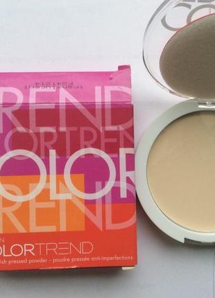 Компактная пудра для проблемной кожи color trend(оттенок translucent) avon