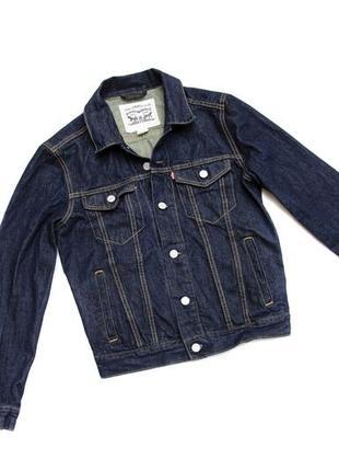 Джинсовый пиджак levis. размер s