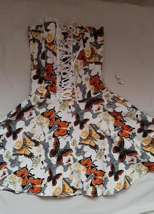 Платье корсет нарядное