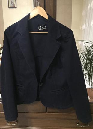 Натуральный жакет пиджак
