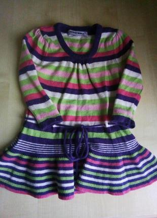 Шерстяное платье-туника. tender world