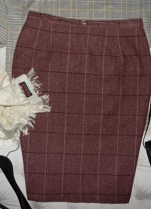 Шикарная юбка, 20 % шерсть