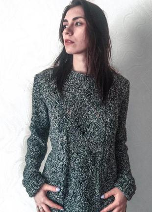 Тёплый вязанный свитер от oasis